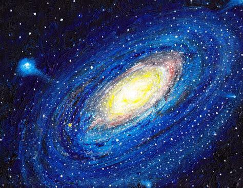 Milky Way Galaxy Original Art Peggy Amato The