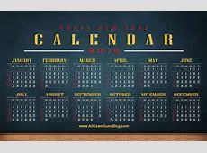 2016 CalendarDesktop Wallpaper Calendar 2016 Download