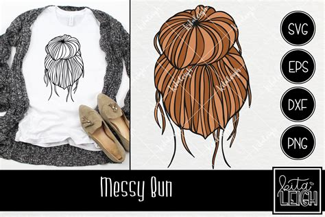If you have any query regarding the digital files or unhappy with our design, please feel free to contact us or email us at info@vectorkhazana.com. Messy Bun INSTANT DOWNLOAD in dxf svg eps for use with   Etsy