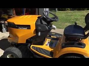 Cub Cadet Xt1 Lt50 Lawn Tractor  Starter Problems First
