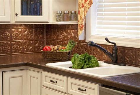 kitchen copper backsplash ideas dosserets de cuisine en cuivre pour embellir int 233 rieur 6592