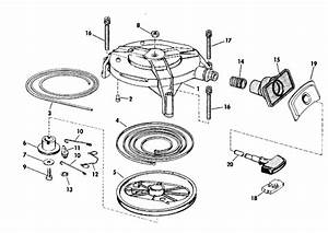 Johnson Rewind Starter Parts For 1980 25hp J25tecsa