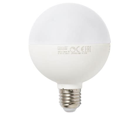 ikea s great bulb 1 800 lm and 90cri