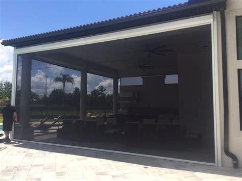 porch lanai and screen enclosures motorized screens