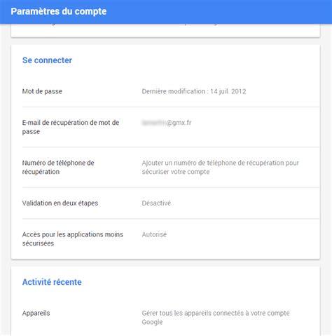 Modification Mot De Passe Gmail by Modification Mot De Passe Gmail Modification Mot De Passe