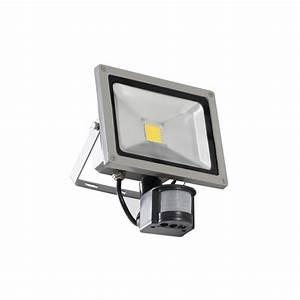 Projecteur Exterieur Avec Detecteur De Mouvement : projecteur led 30 watts avec d tecteur de mouvement pour l ~ Edinachiropracticcenter.com Idées de Décoration