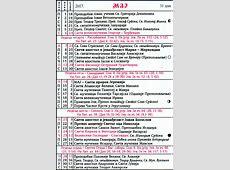 Pravoslavni crkveni kalendar za 2017 05