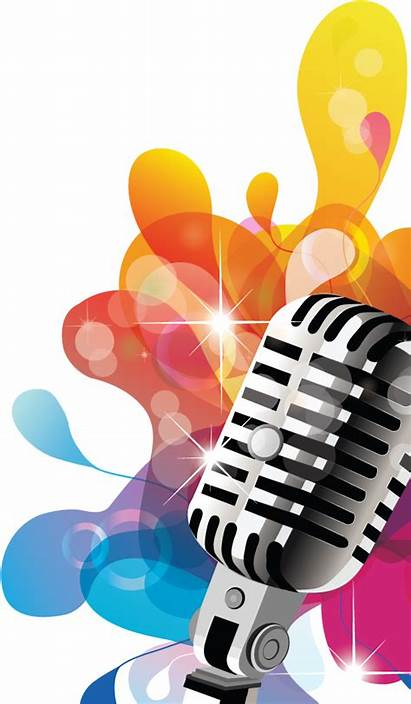 Singing Microphone Clipart Transparent Clip Pinclipart