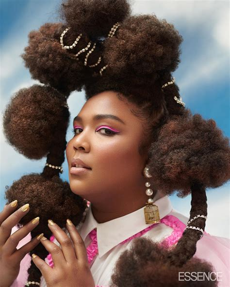 Lizzo Served Major Beauty Lewks On The Cover Of Essence