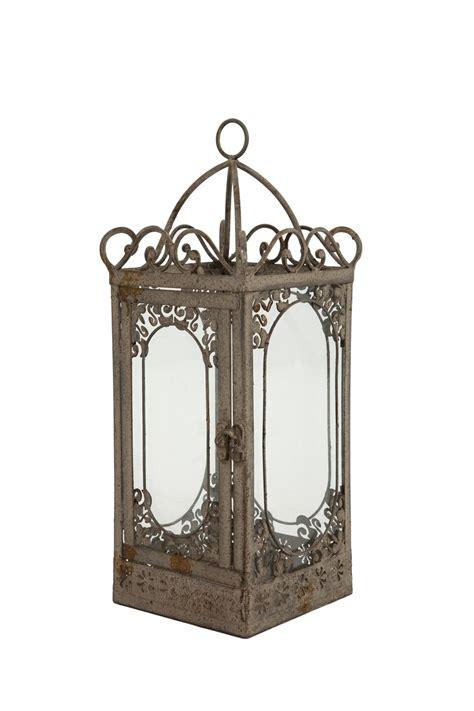 french antique vintage style lantern candle holder indoor
