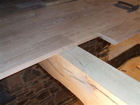 plancher en bois massif plancher en bois massif pose clout 233 e ou viss 233 e dessine moi une maison