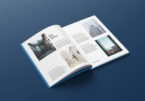 Simple edit with smart layers. Free A4 Hardcover Book / Magazine Mockup PSD Set - Good ...