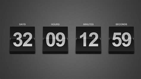 create  sleek countdown timer photoshop tutorial