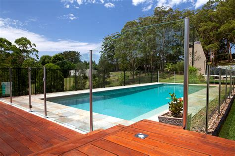 Above Ground Pool On Slope With Deck