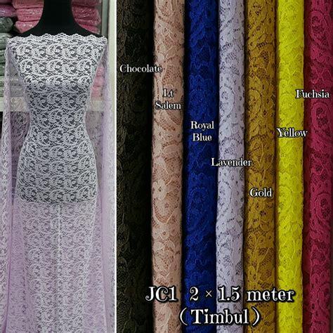 jual brokat brukat bahan kain kebaya dress gaun baju