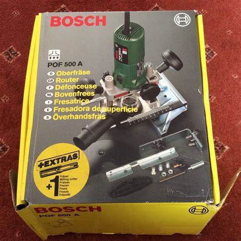 bosch pof 500 a router like new in evesham worcestershire gumtree