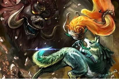 Zelda Wolf Link Twilight Princess Legend Midna