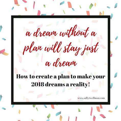how to create a plan to make your 2018 dreams a reality video worksheet