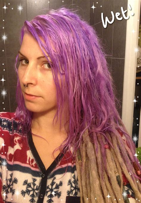 Dying My Hair From Blonde To Lilac Spookyruthy World Of