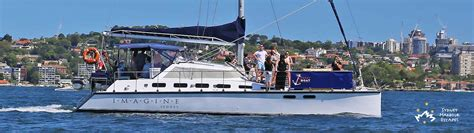 Catamaran Boat Hire Sydney Harbour by Imagine Boat Hire New Years Day Charter Sydney Harbour