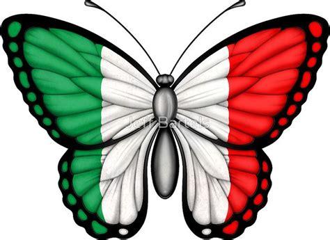 Italian Flag Butterfly   Simbolos patrios de mexico ...