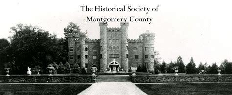 garibaldis row historical society  montgomery county pa