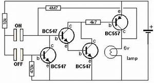 touch switch circuits circuit diagram world With the circuit was designed to create a touch switch that can be used for