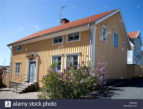 swedish style house typical swedish style house in fjallbacka sweden stock photo royalty free image 86506245 alamy