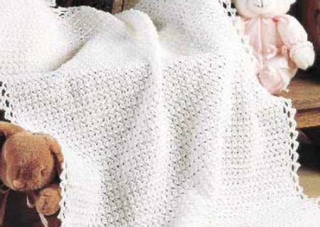 Crochet Baby Shawl Pattern - Erieairfair