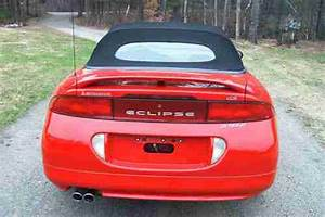 Find Used 1996 Mitsubishi Eclipse Spyder Gs Convertible In