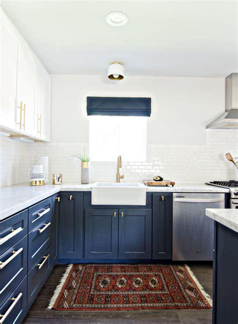 le輟n de cuisine mobilier de cuisine bicolore pour donner vie à endroit préféré