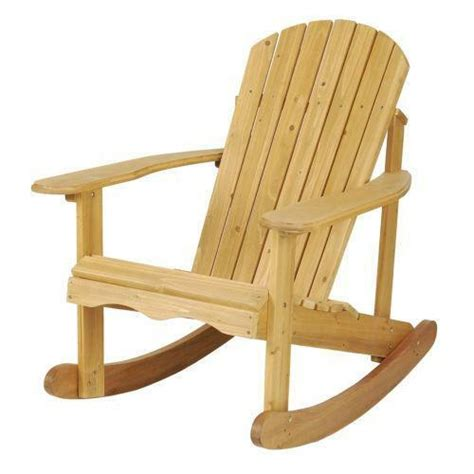 adirondack rocking chair ebay