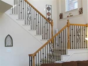 Garde Corps Escalier Fer Forgé : rampe d 39 escalier 59 suggestions de style moderne ~ Nature-et-papiers.com Idées de Décoration