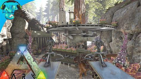Ark Raid Boat Designs by Raiding The Tree Platform Base In The Redwoods Ark