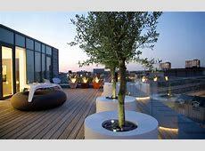 Bespoke roof terrace design Mylandscapes modern roof