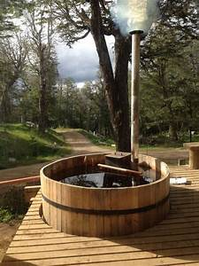 Rustic, Cedar, Hot, Tub, Ideas, For, Natural, Atmosphere, In, 2020