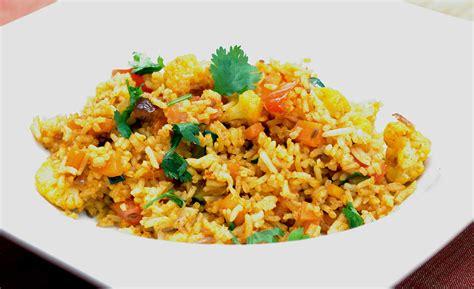 cuisine indienne biryani recette indienne vidéo fried rice riz frit de