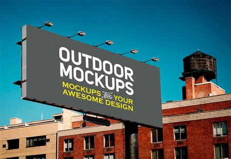 Mockup psd provides you free mockups designs for devices, stationery, apparel, packaging, billboards, signs and more. 8 Billboards - Free PSD Mockups | Free Mockup