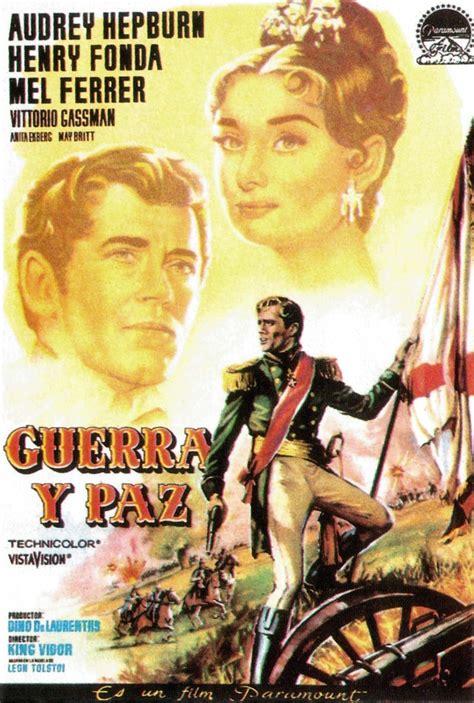 peace war paz guerra poster 1956 hepburn film movie audrey doctormacro films posters di afi salvato da