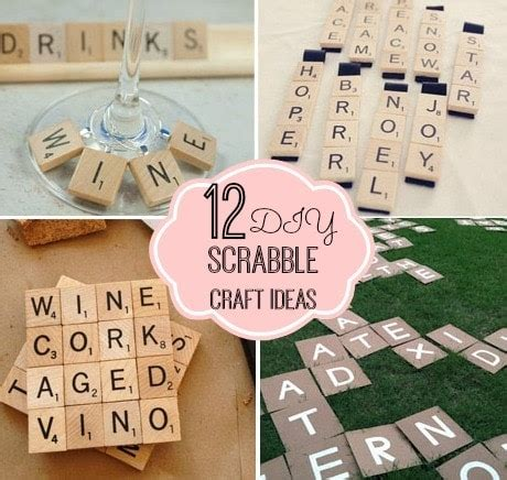 scrabble tile craft ideas 12 diy scrabble craft ideas modern 5379