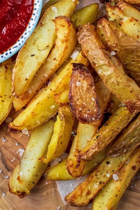 fryer air chips recipes fries vegetable healthy fry recipe ketchup tomato