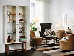 Living Room Furnished With A Glass Door Cabinet With Solid Ash Legs KARLSTAD Chaise Longue Add On Unit IKEA A Range Of Coordinated Covers Ikea Kitchen Stools Australia Home Design Ideas Chair Design Dining Room Chairs Leather Clear Dining Chairs Australia