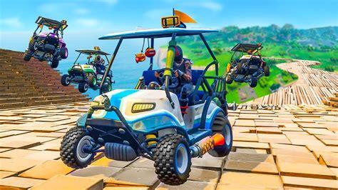 extreme custom race track  fortnite playground  youtube