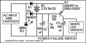 Power Failure Switch - Control Circuit