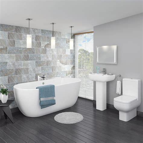 pro  modern  standing bath suite   bathroom