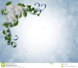 cadre mariage gardenias de cadre d 39 invitation de mariage images libres de droits image 10113949
