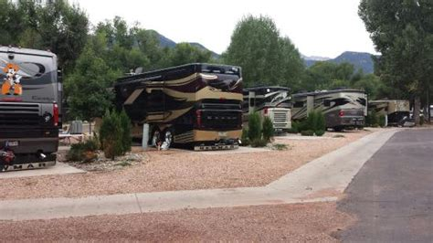 garden of the gods rv resort great location for all points of interest picture of