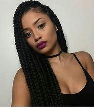 Black Box Braid Hairstyles