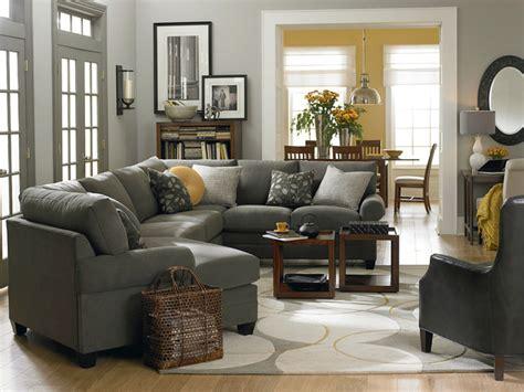 Grey Living Room Hgtv by Hgtv Home Cu 2 Left Cuddler Sectional By Bassett Furniture