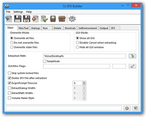 7z Sfx Builder Download